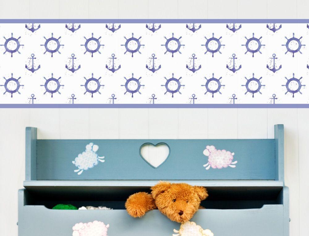 Anker Bordüre für das Kinderzimmer - I-love-Wandtattoo.de ...
