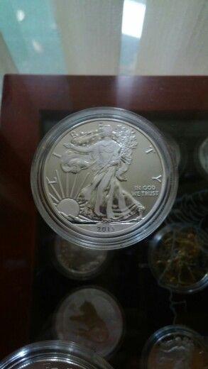 2013 1 oz. Special enhanced .999 fine silver american eagle $ 1 dollar coin…