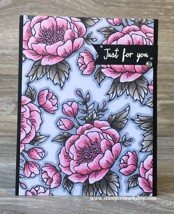 Similar but Different (Birthday Blooms) Stampers