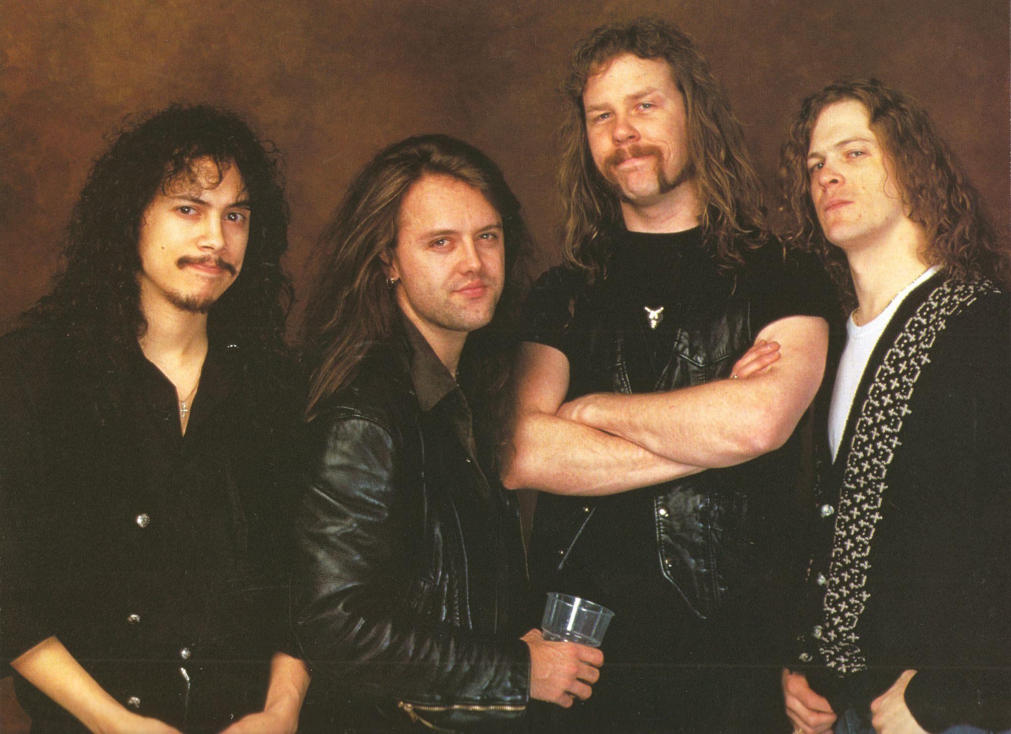 Lars Ulrich and James Hetfield | Musics Bad Boys | Pinterest