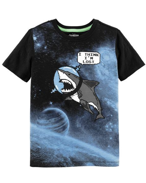 5663a800 Glow-in-the-Dark Graphic Novel Tee | Products | Graphic tees, Boys ...