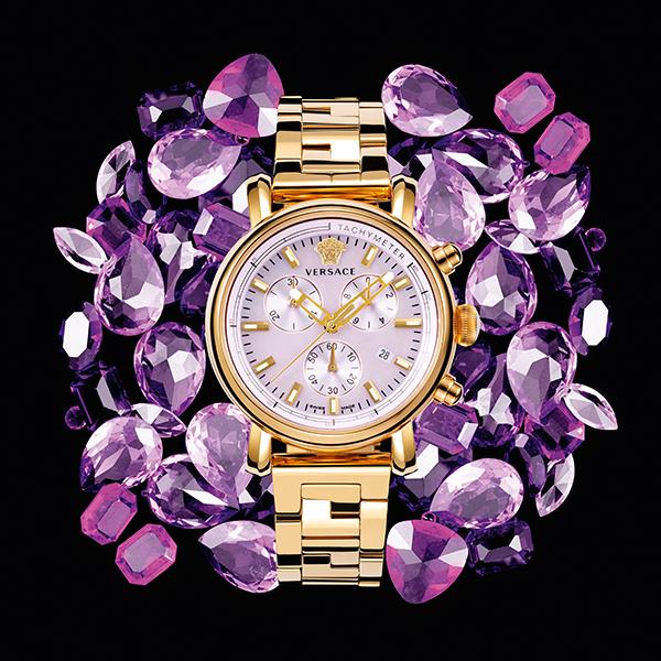 Versacewatches Passionate Purple Pinterest Reloj