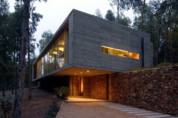 Fertighaus Design - Architekten Idee - Haus Mit Flachdach | Ideen