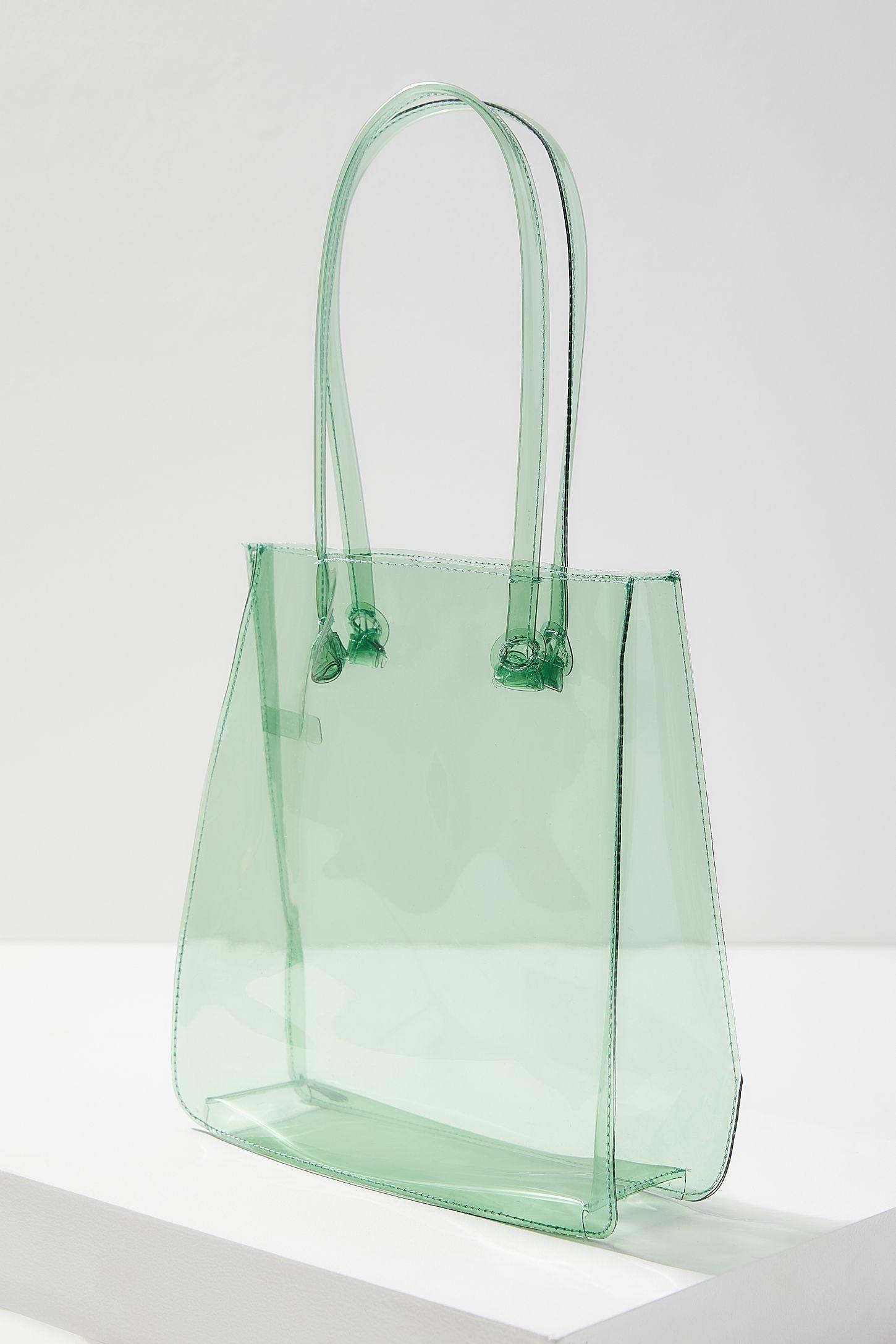 a5079e533f Slide View  3  Clear Mini Lady Tote Bag
