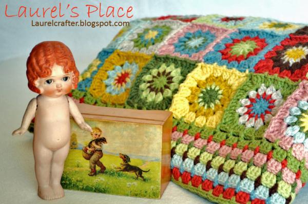 Crochet patrón manta   almofada de crochê   Pinterest   Patrones ...