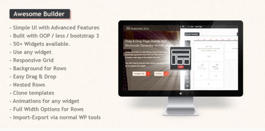 Download Free Awesome Builder v1 5 Drag & Drop Page Builder Plugin