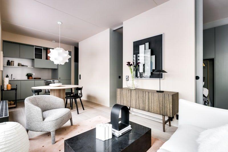 Note Design Baut Kompakte City Apartments Für Mehr Urbane Gemeinschaft.  (Foto: Henrik Nero) #Wohnzimmer #Sessel #interior #Sofa #Ideen #Einrichtung  #Küche # ...