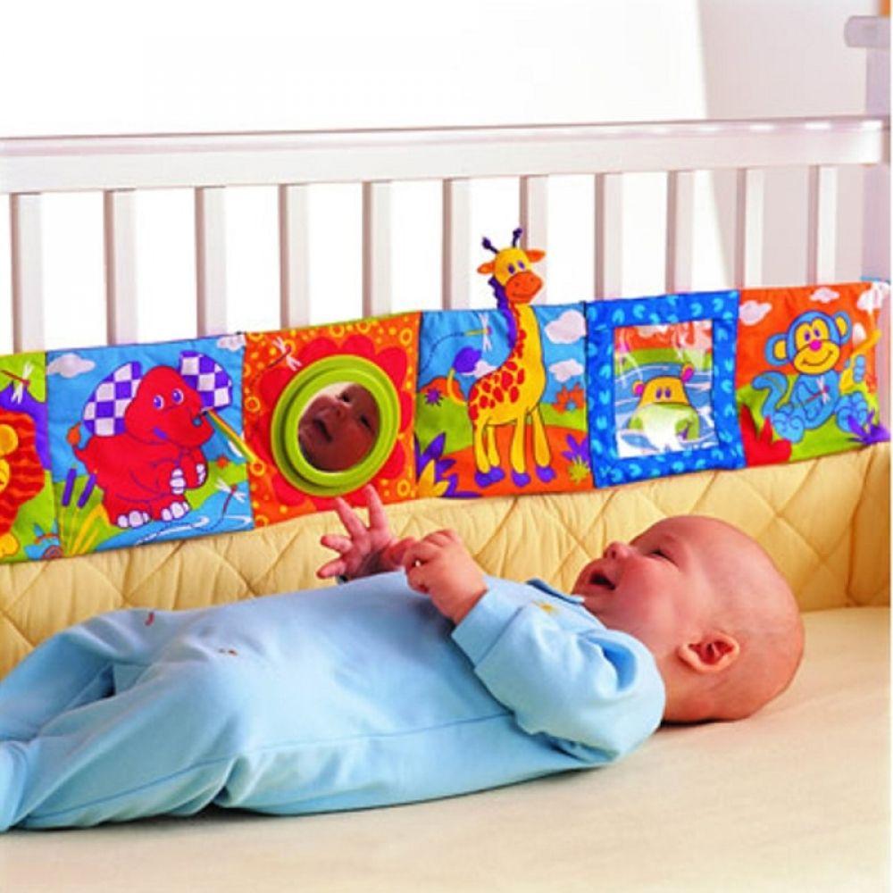 Bebé Juguetes De Bebé Sonajeros Libro De Paño Conocimiento Sobre Multi Touch Multifunción Divertido Y Doble Color Colorido Newborn Toys Baby Playpen Baby Toys