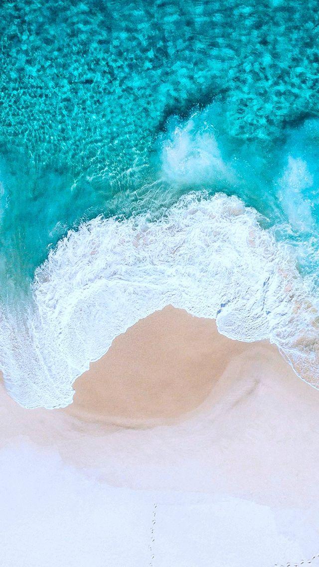Nature Pure Crystal Ocean Wave Splash Beach Iphone 5s Wallpaper Ios 11 Wallpaper Waves Wallpaper Ipad Wallpaper