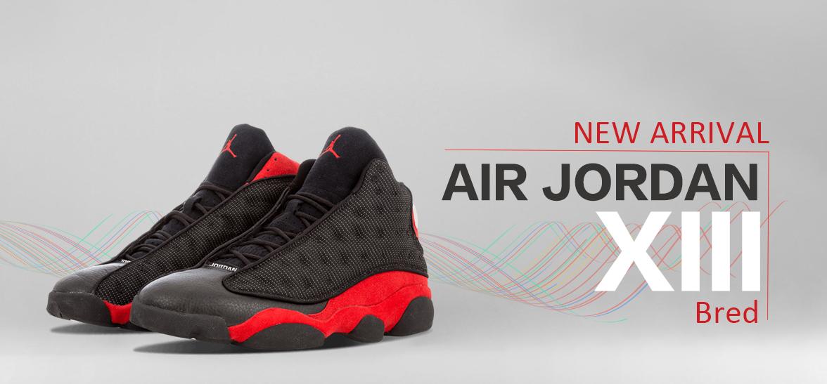 baaeaf4984b41f Nike Air Jordan 13 Retro Bred