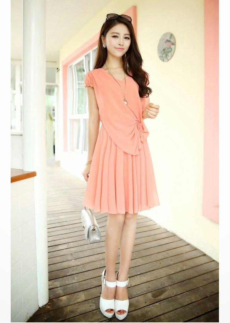 28 modelos de vestidos coreanos   parte 4 mundo fama