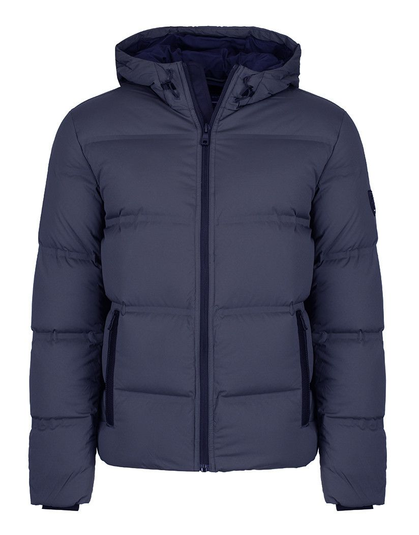 cfa4020c1 Tommy Hilfiger Men's Maddy Hooded Down Quilted Bomber Jacket - Sky ...