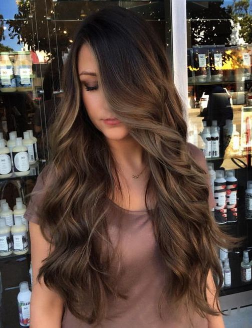 Long Hairstyles Ideas 2018 with Folding Layers