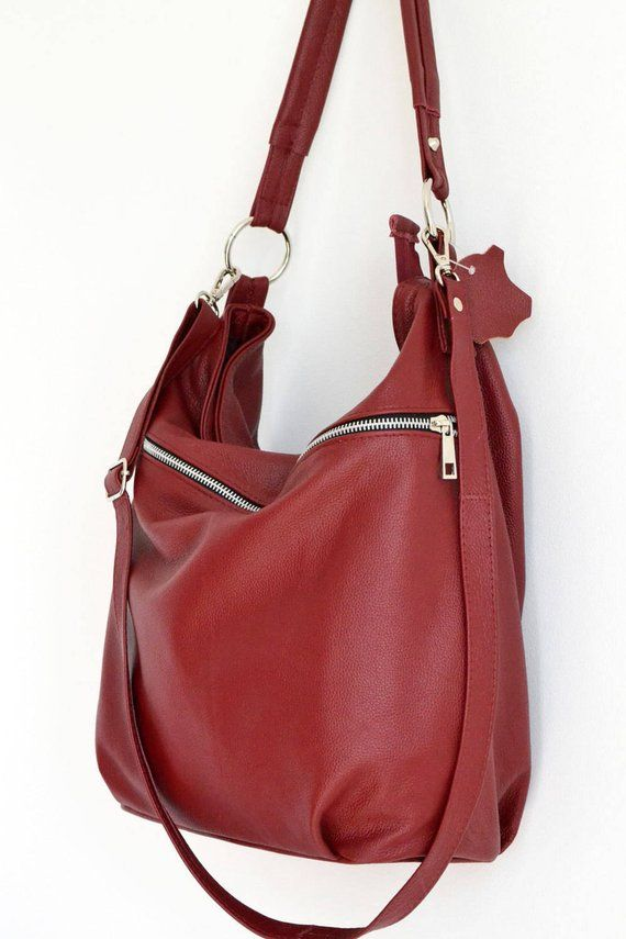 4ffaa1ec6a LEATHER HOBO Bag