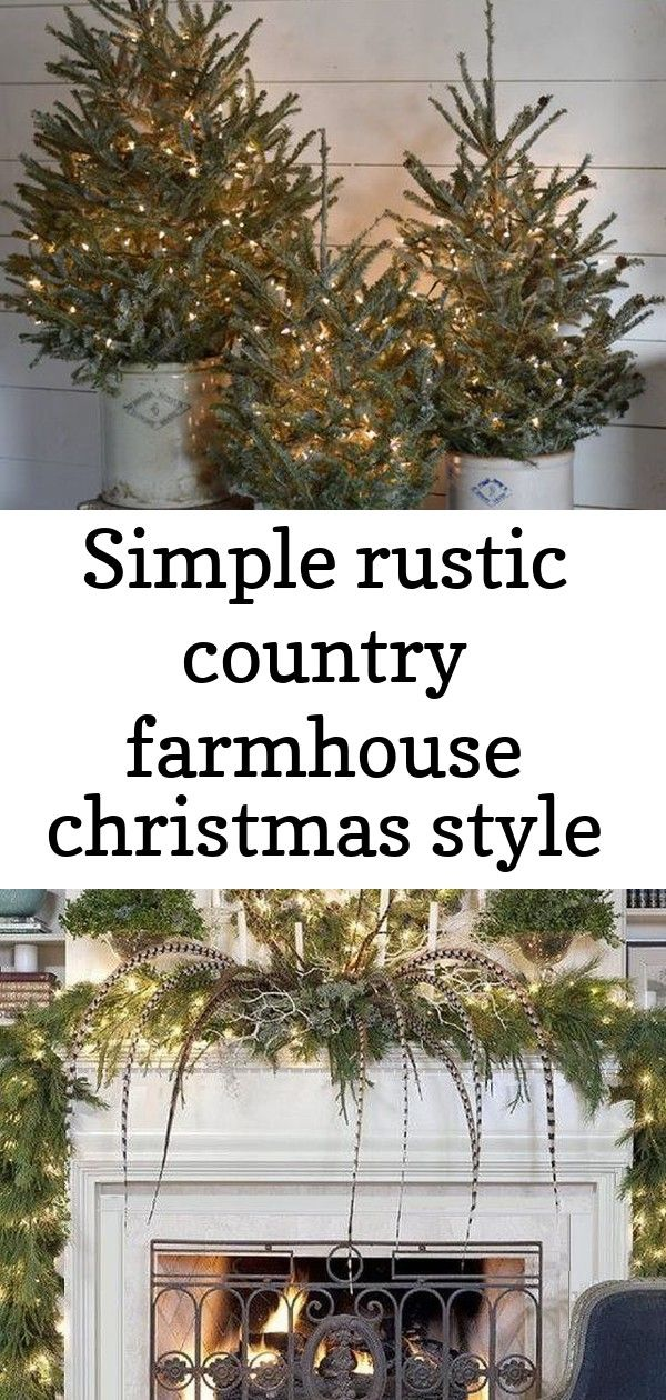 Simple rustic country farmhouse christmas style 11 Farmhouse Christmas Home Tour 2017 Simple Rustic Country Farmhouse Christmas StyleSimple Rustic Country Farmhouse Chris...