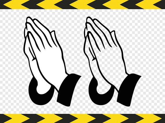 Pray Svg Christian Praying Hands Prayer Clipart Dxf Pdf Png Etsy Prayer Clipart Praying Hands Clipart Clip Art