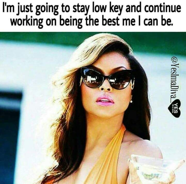 Taraji P Henson Quote Diva Quotes Minding My Own Business