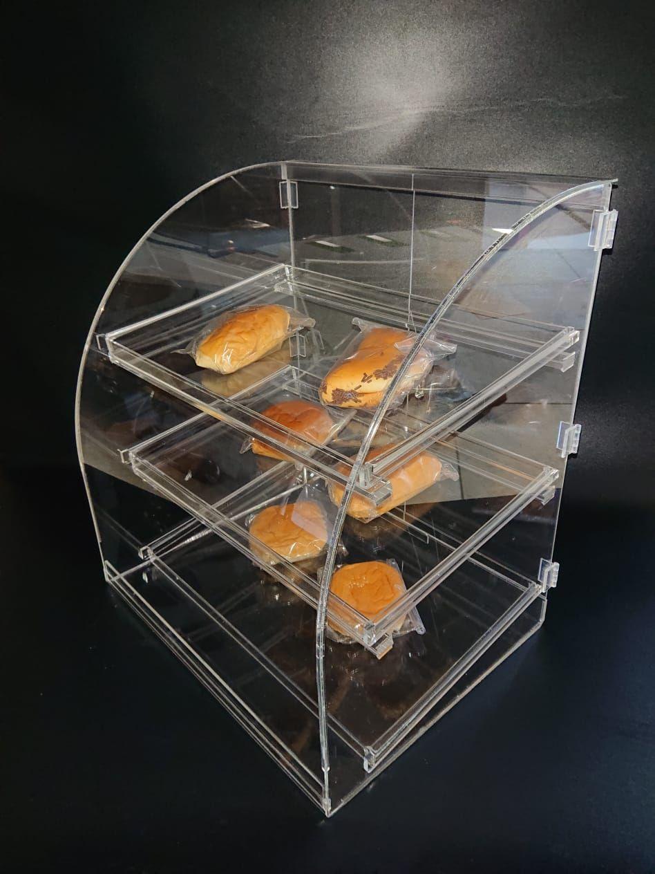 WA 082313666466 Storefront / Display Cake Bread Acrylic Cake