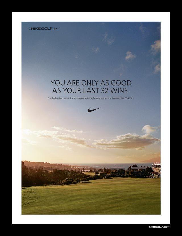 Nike Nikegolf Ad Print