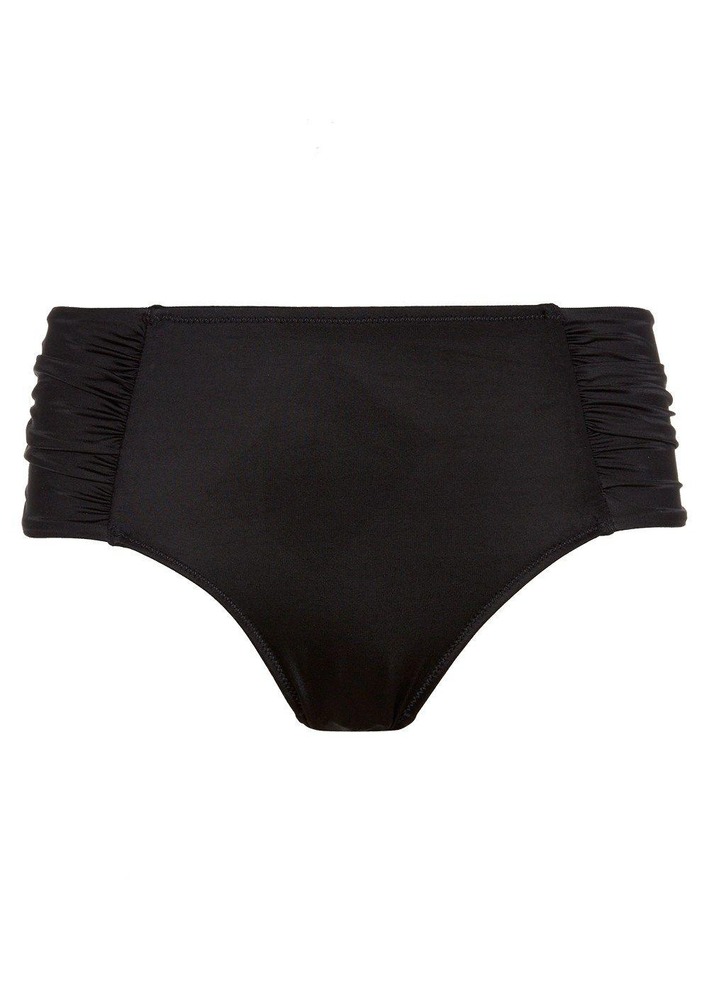 446e2b30cd8e1 Shapewear Black Mid Rise Bikini Briefs - Matalan