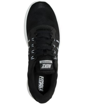 check out a1c47 d4094 Nike Men s LunarStelos Running Sneakers from Finish Line - Black 11