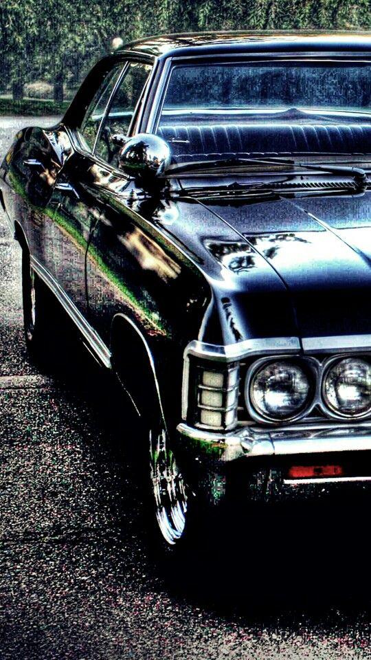Supernatural Impala Sobrenatural Carro Supernatural Dean Winchester Sobrenatural