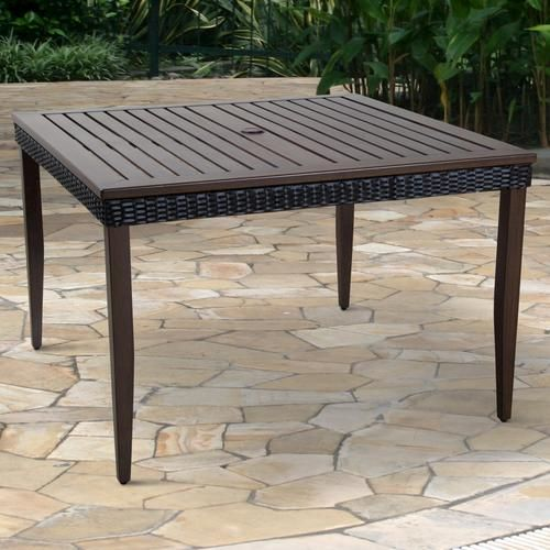 Indio Dining Table At Menards Dining Table Sterling Homes Outdoor Tables