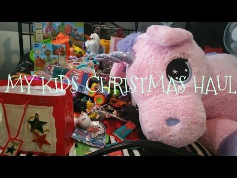 Christmas Morning 2016 Opening Presents Surprise Toys for Kids