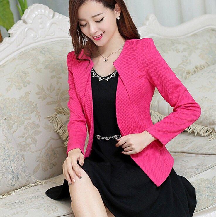 Resultado de imagem para blazer rosa aliexpress