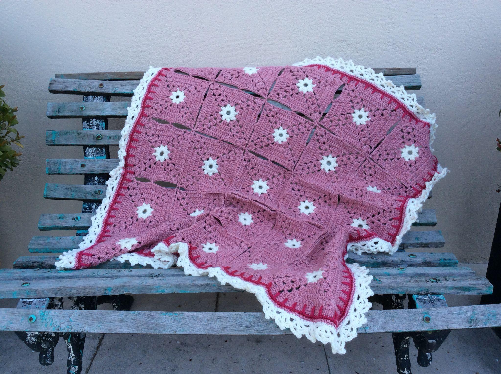 Baby girl Blanket for Juanita