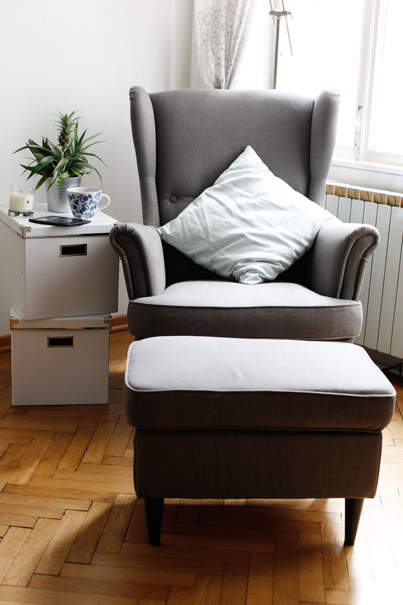 sessel ikea | strandmon | pinterest | décoration appartement, ikea