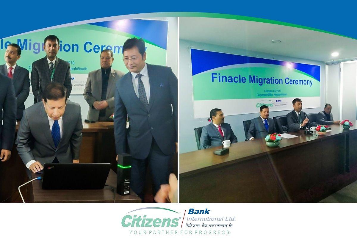 Dr Shankar Prasad Sharma, Chairman of Citizens Bank