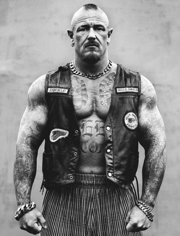 Inspiration For Sledge Iron Horse Mc Nation Vp Homme Tatoue Portrait Hommes Tatouage Homme