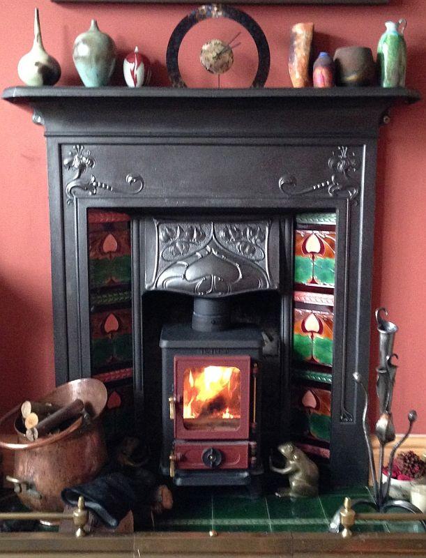 Cast Iron Multi Fuel Stove, Cast Iron Fireplace Wood Burning Stove