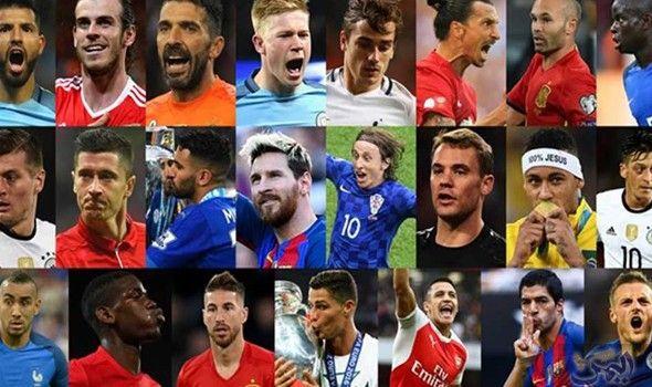 الفيفا أذاعت أسماء المرشحين كأفضل لاعب في 2016 Soccer Players Soccer Fifa