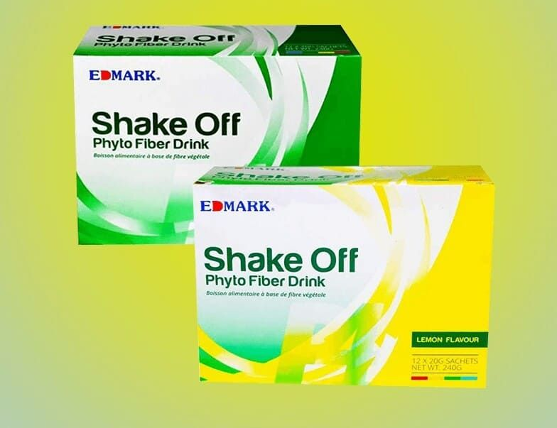 منتج شيك اوف من شركة ايدمارك الماليزية Fiber Drinks Shake It Off Flavors