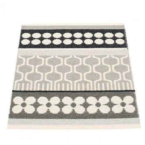 Pappelina Asta Small Mat Warm Grey Small mats, Warm