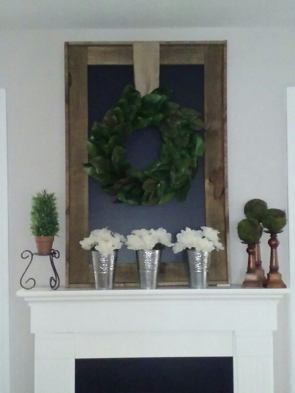 Modern Farmhouse Exterior Wreaths Garlands
