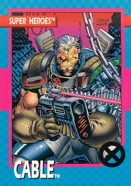 Comic Book Trading Cards Marvel Cards Comics Cable Marvel