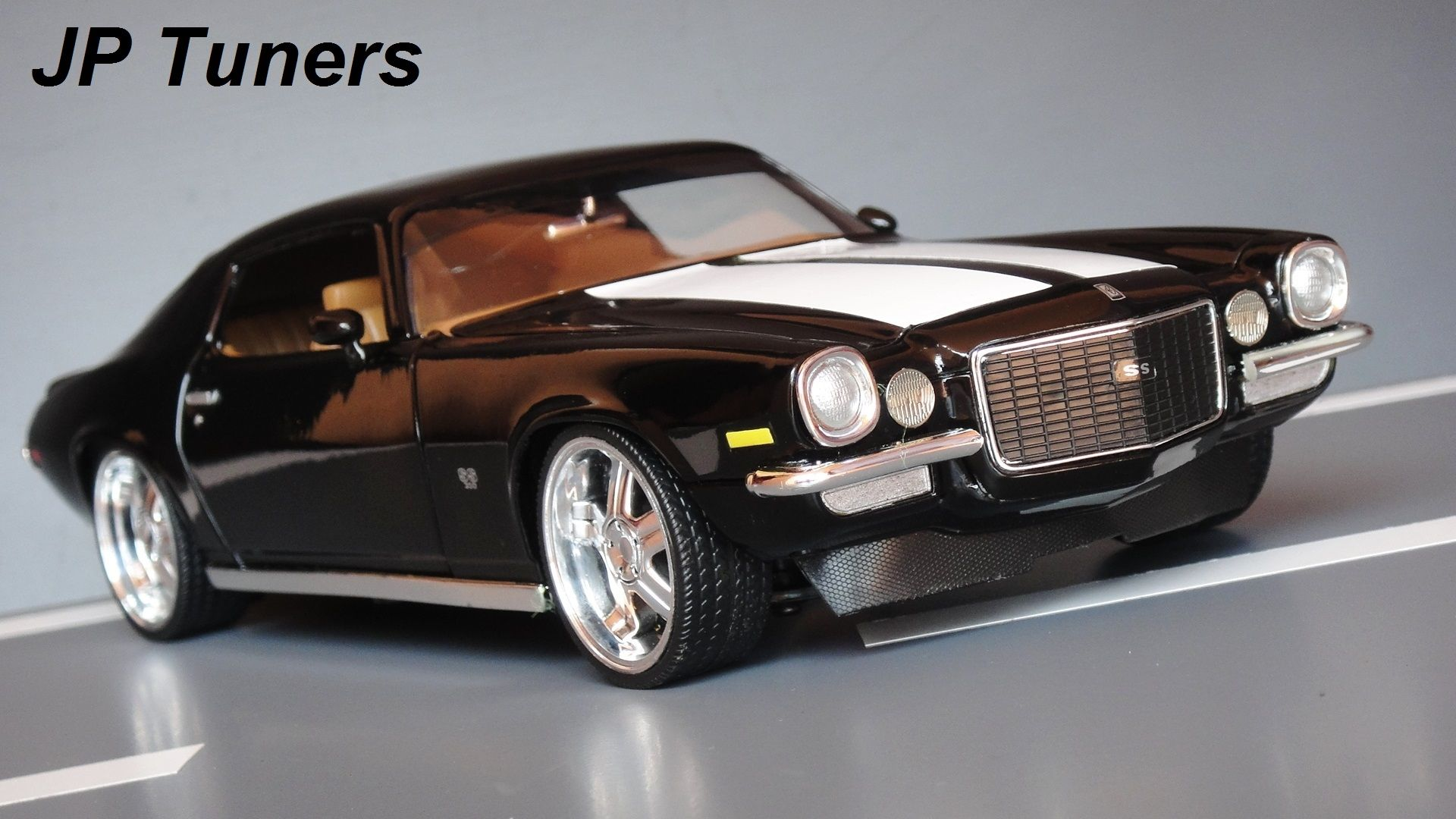 1 18 chevy camaro 1970 custom american muscle cars. Black Bedroom Furniture Sets. Home Design Ideas