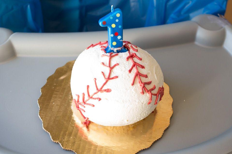 Ballpark baseball 1st birthday boy party theme publix
