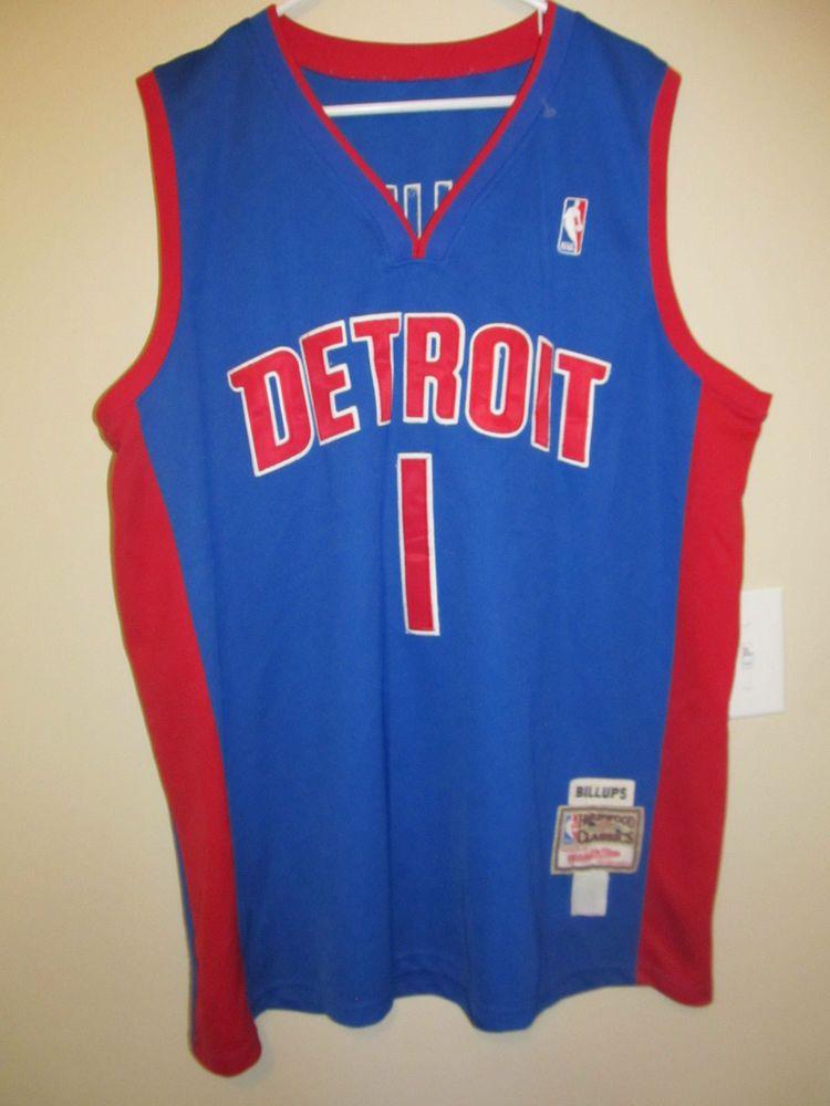 official photos 6fc2d c6fb4 Chauncey Billups - Detroit Pistons jersey - Mitchell & Ness ...