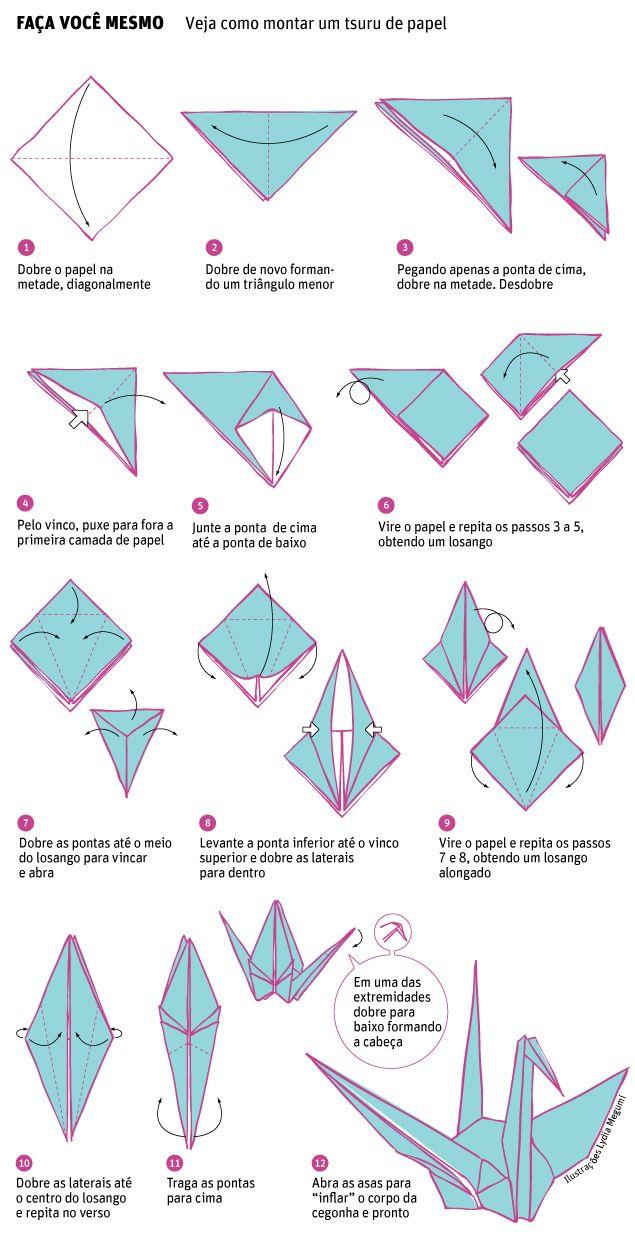 Origami seduz noivas e leva forma e cor a casamento