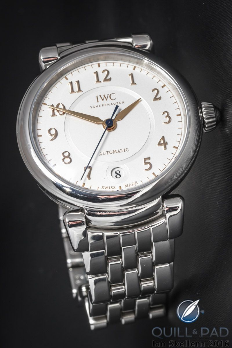 Iwc Da Vinci 2017 The Ultimate In Masculine Watches Finds A Female Side With Automatic 36 Automatic Moon Phase 36 Http Time Swiss Made Watches Iwc Watches