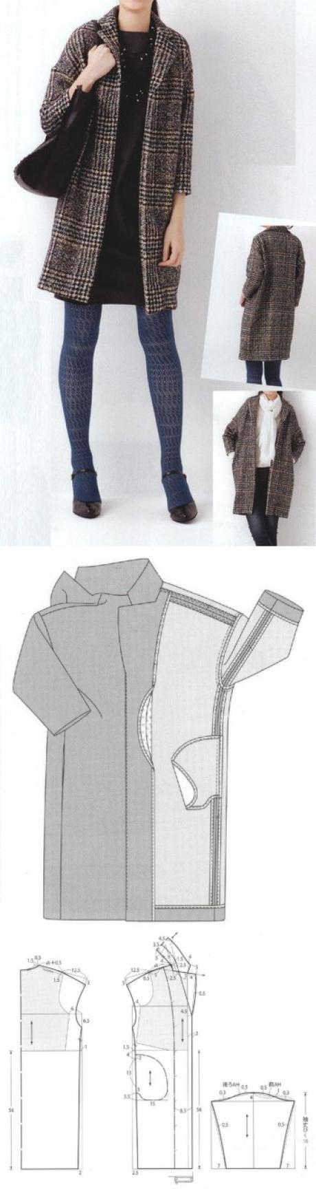 Los patrones simples | las cosas simples | Ideas para coser ...