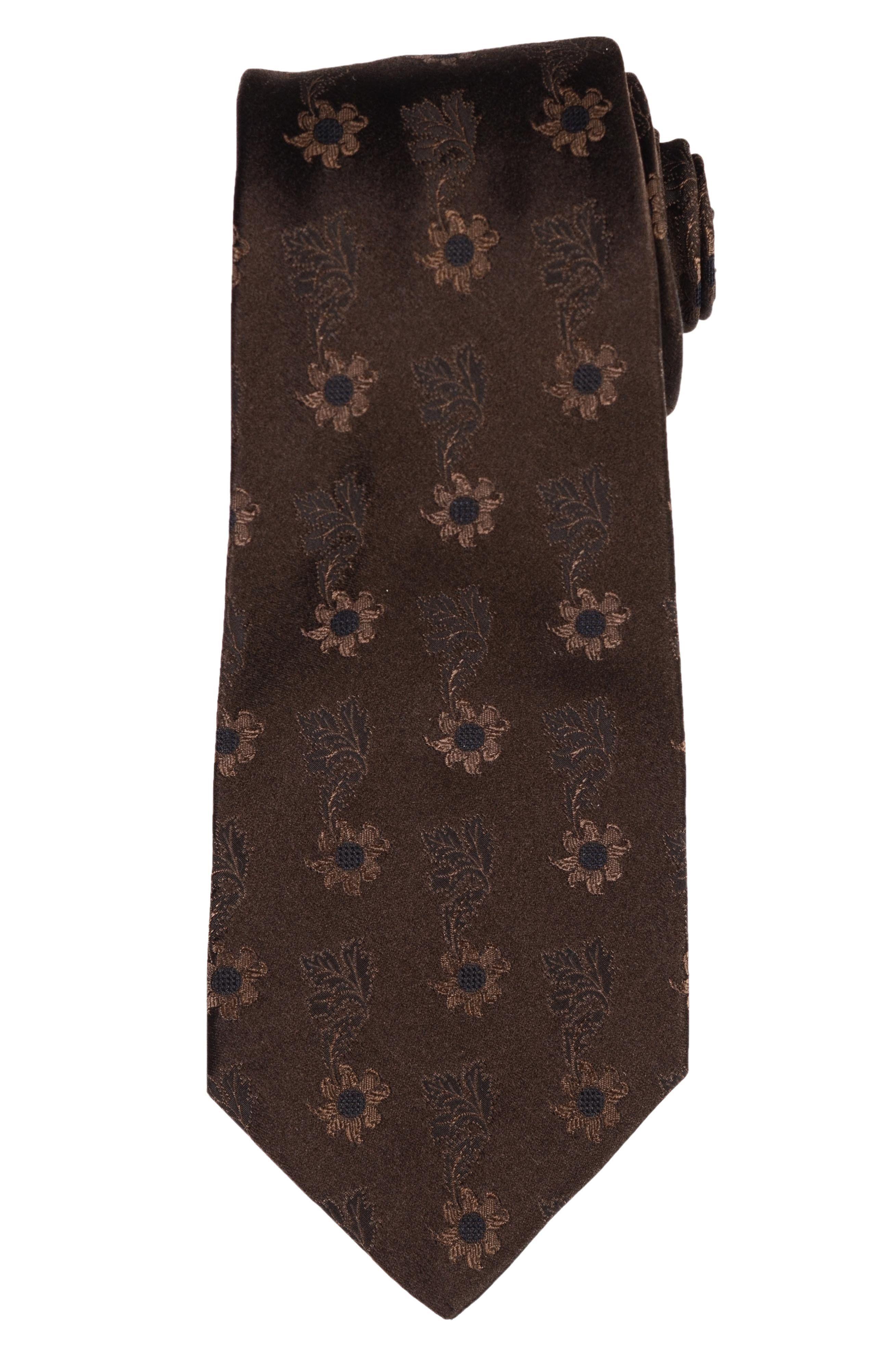 KITON Napoli Hand-Made Seven Fold Burgundy Silk Tie NEW