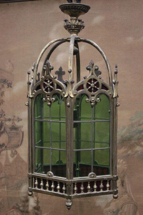 Gothic Chandelier in bronze - Chandeliers - Houtroos