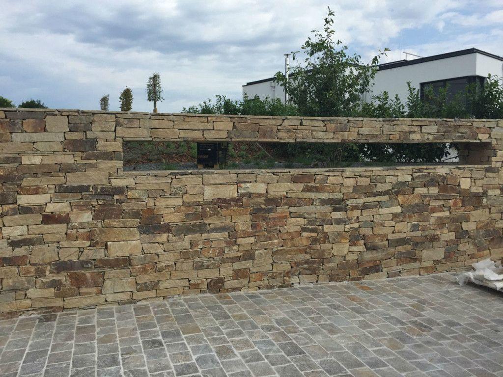 Bruchsteinmauern  Schubert Stone  Naturstein  Ideeën