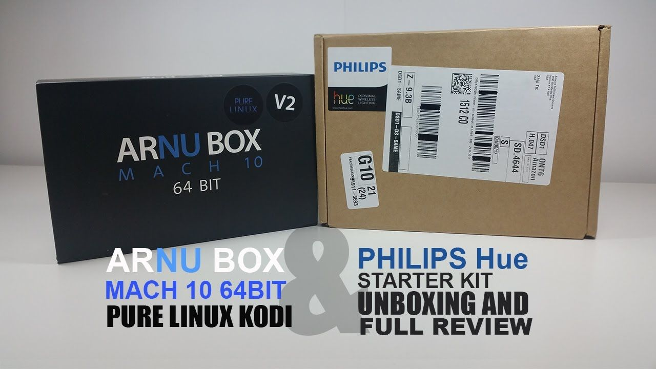 Hue G10 Arnu M10 V2 64bit Pure Linux Kodi 17 1 With Philips Hue White