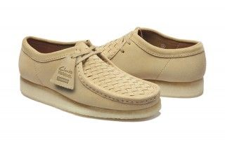 4ece831e29ad5 Supreme x Clarks Woven Suede Wallabees   my chill chues   Clarks ...